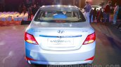 Hyundai Verna facelift rear launch