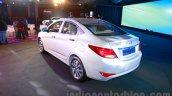 Hyundai Verna facelift rear quarter launch