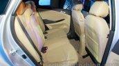 Hyundai Verna facelift rear seat launch