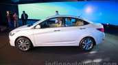 Hyundai Verna facelift side launch