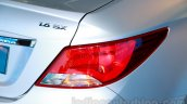 Hyundai Verna facelift taillights launch