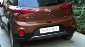 Hyundai i20 Active rear bumper skid-plate spyshot