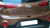 Hyundai i20 Active rear fascia spyshot