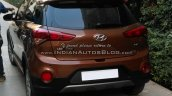 Hyundai i20 Active rear spyshot