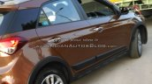 Hyundai i20 Active rear three quarters view spyshot