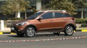 Hyundai i20 Active side spyshot in motion