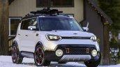 Kia Trail'ster concept front three quarters