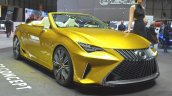 Lexus LF-C2 Concept front three quarter(3) view at 2015 Geneva Motor Show