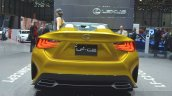 Lexus LF-C2 Concept rear  view at 2015 Geneva Motor Show