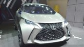 Lexus LF-SA Concept front three quarter view at 2015 Geneva Motor Show