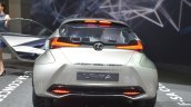 Lexus LF-SA Concept rear view at 2015 Geneva Motor Show