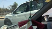 Mahindra XUV500 Xclusive edition side spied