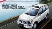 Mahindra XUV500 Xclusive edition with sunroof