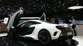 McLaren 675LT rear thre quarter(3) view at 2015 Geneva Motor Show