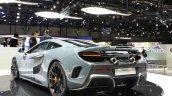 McLaren 675LT rear three quarter(5) view at 2015 Geneva Motor Show