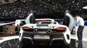 McLaren 675LT rear view at 2015 Geneva Motor Show