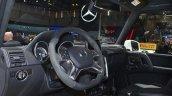 Mercedes G 500 4x4 Concept interior at the 2015 Geneva Motor Show