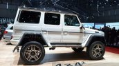 Mercedes G 500 4x4 Concept side at the 2015 Geneva Motor Show