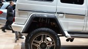 Mercedes G 500 4x4 Concept wheel well at the 2015 Geneva Motor Show