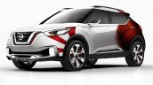 Nissan Kicks Samba concept front quarter