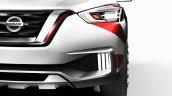 Nissan Kicks Samba concept headlight