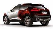 Nissan Kicks Samba concept rear quarter