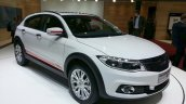 Qoros 3 City SUV front three quarters at the 2015 Geneva Motor Show