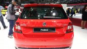 Skoda Fabia Monte Carlo Edition rear view at the 2015 Geneva Motor Show