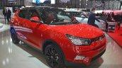 Ssangyong Tivoli front three quarter(2) view at 2015 Geneva Motor Show