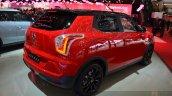 Ssangyong Tivoli rear three quarter view at 2015 Geneva Motor Show