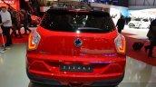 Ssangyong Tivoli rear view at 2015 Geneva Motor Show