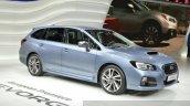 Subaru Levorg front three quarter view at 2015 Geneva Motor Show