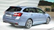 Subaru Levorg rear three quarter view at 2015 Geneva Motor Show