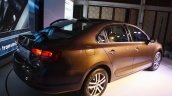 VW Jetta facelift Launch Mumbai rear quarter