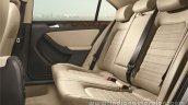 VW Jetta facelift rear seat press shots