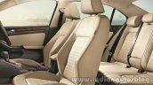 VW Jetta facelift seats press shots