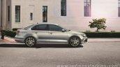 VW Jetta facelift side press shots