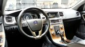 Volvo V60 Cross Country dashboard at the 2015 Geneva Motor Show