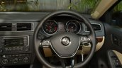 VW Jetta facelift steering wheel