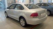 2014 VW Vento rear three quarter left Highline variant