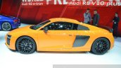 2015 Audi R8 V10 Plus side(2) view at 2015 Geneva Motor Show