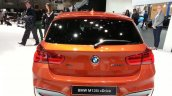 2015 BMW 1 series rear view at 2015 Geneva Motow Show
