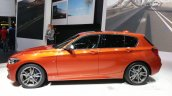 2015 BMW 1 series side view at 2015 Geneva Motow Show