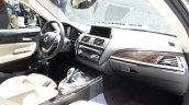 2015 BMW 116i dashboard at 2015 Geneva Motow Show