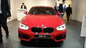2015 BMW 116i front view at 2015 Geneva Motow Show