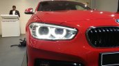 2015 BMW 116i headlight at 2015 Geneva Motow Show