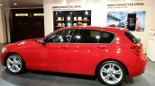 2015 BMW 116i side view at 2015 Geneva Motow Show
