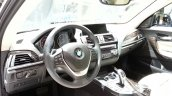 2015 BMW 116i steering wheel at 2015 Geneva Motow Show