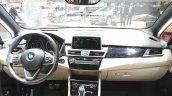 2015 BMW 2 Series Gran Tourer complete dashboard at 2015 Geneva Motor Show