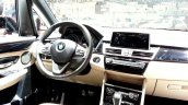 2015 BMW 2 series dashboard view at 2015 Geneva Motow Show